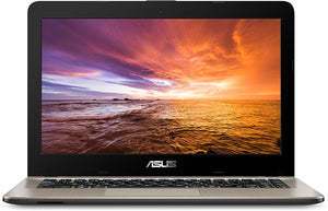 "ASUS VivoBook F441 Laptop - AMD A9-9425 Processor (Upto to 3.70Ghz), Radeon R5 Graphics, 8GB DDR4, 256GB SSD, 14"" FHD display, WebCam, Windows 10 pro"