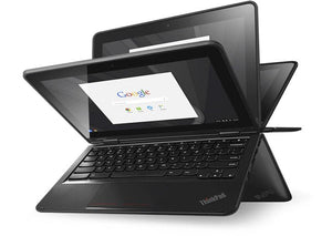 Lenovo ThinkPad Yoga 11e Touchscreen Chromebook (3rd Gen) - Intel Celeron N3160 4GB RAM 16GB SSD WebCam Chrome OS