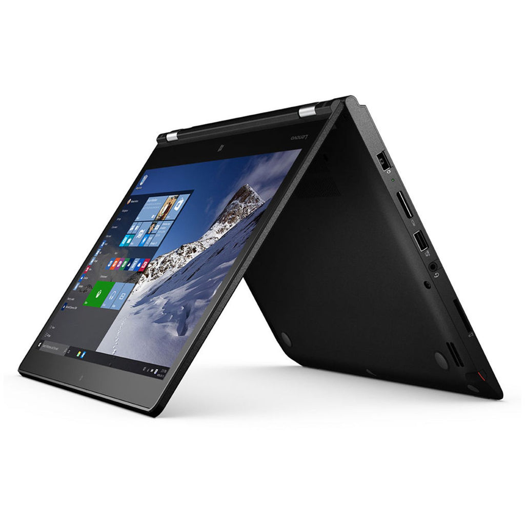 Lenovo ThinkPad Yoga (20CD) 2-1 Laptop - Intel Core i7-4500U(upto 3.0GHz) 8GB RAM 180GB SSD WebCam Win 10 Pro - Coretek Computers