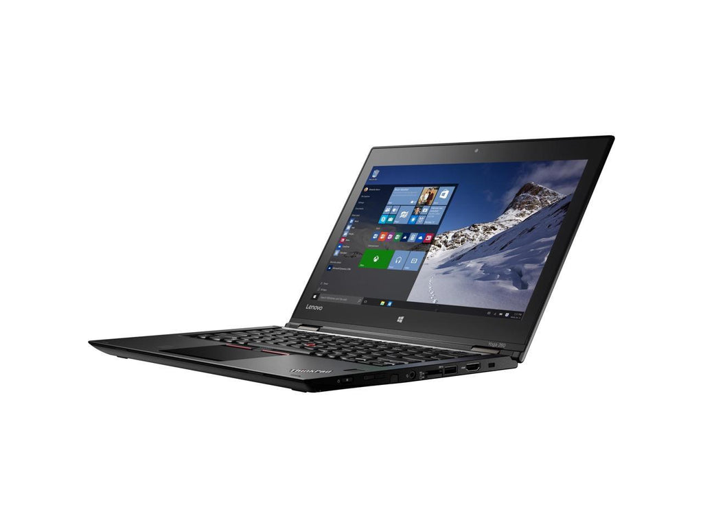 "Lenovo Grade A ThinkPad Yoga 260 12.5"" FHD Touchscreen 2 in 1 Ultrabook - Intel Core I5-6200U 2.30GHz - 8 GB RAM - 180 GB SSD - WebCam - Windows 10 Pro 64-bit"
