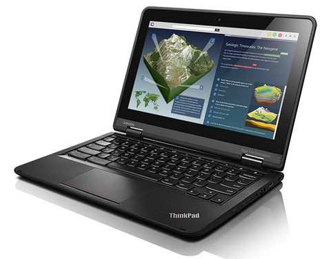 "Lenovo ThinkPad Yoga 11E 11.6"" Touchscreen Chromebook Quad-Core 1.83GHz 4GB 16GB"