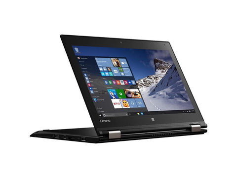 "Lenovo ThinkPad Yoga 260 12.5"" Touchscreen 2 in 1 Ultrabook Laptop - Intel Core i3 (6th Gen) i3-6100U Dual-core (2 Core) 2.30 GHz - 4 GB DDR4 SDRAM - 128 GB SSD - Windows 10 Pro 64"