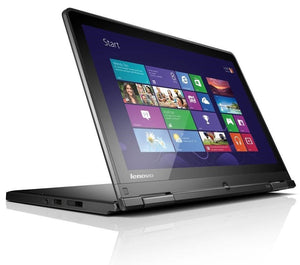 "Lenovo Thinkpad Yoga S1 12.5"" Touchscreen 2-in-1 Laptop - 4th Gen Intel Core i5-4200U (up to 2.60GHz) 4GB RAM WebCam Windows 10 Pro - Coretek Computers"