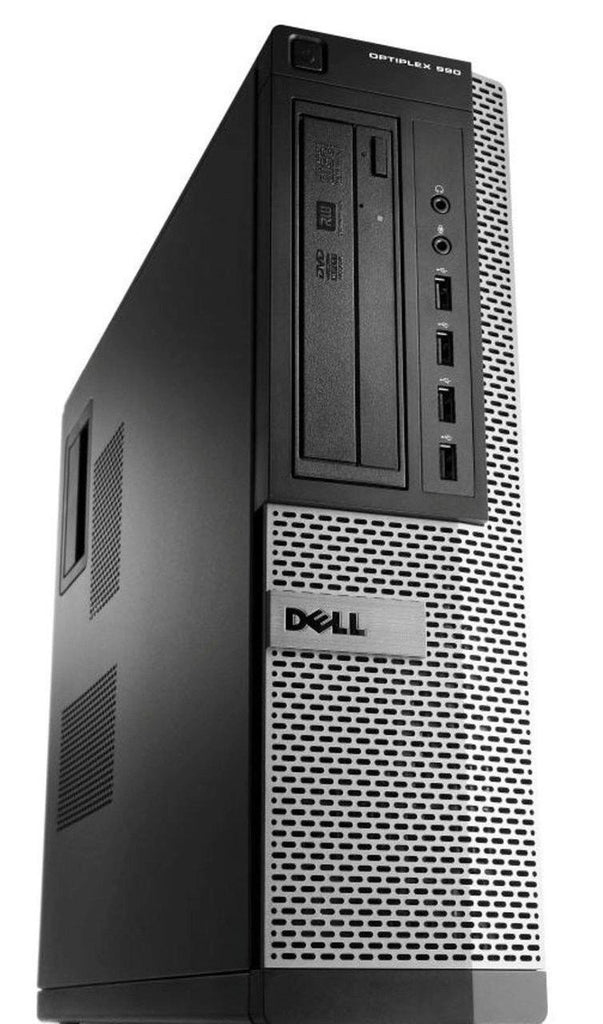 Dell Optiplex 990 Desktop Computer - Intel Core i7 3.40GHz Quad, 8GB RAM, DVDRW, Keyboard & Mouse, Win 10 Pro - Coretek Computers