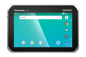 "Panasonic FZ-L1 ToughPad Business Tablet – 7"" HD Gloved Multi Touch, 8GB / 2GB, WiFi, BT, 4G LTE AT&T/Verizon, NFC, Camera, SE4710 2D Barcode Scanner"