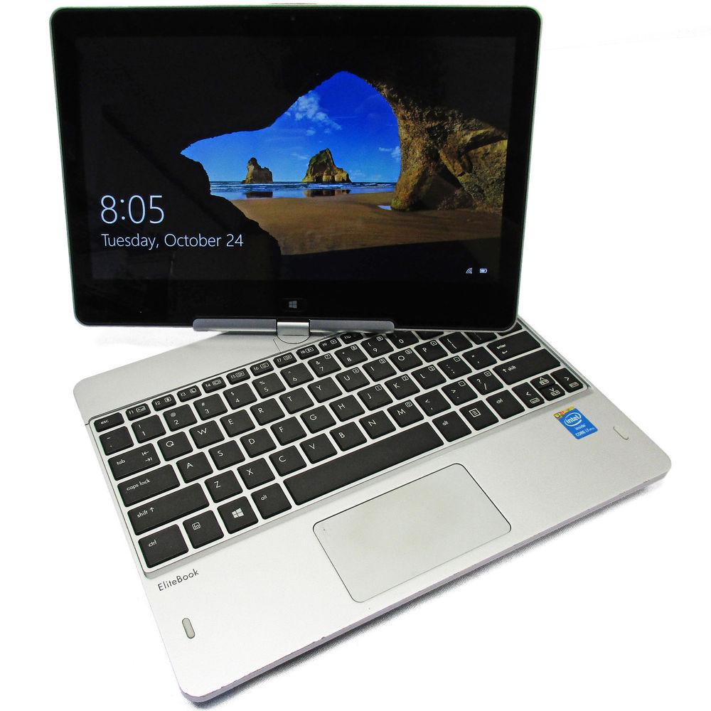 "HP EliteBook Revolve 810 G2 Touch Screen Business Tablet PC - Intel Core i5 4th Gen 4200U (up to 2.60 GHz) 8 GB Memory, 128 GB SSD, Intel HD Graphics 4000, 11.6"" 1366 x 768 res, Windows 10 Pro 64-Bit - Coretek Computers"
