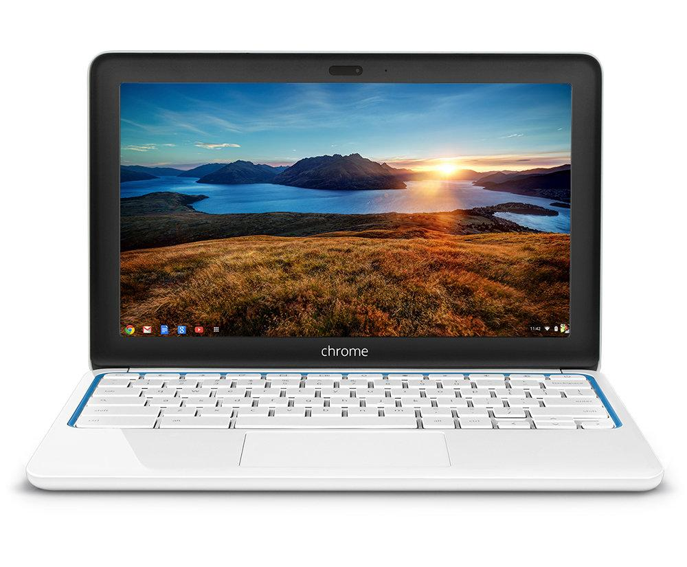"HP Chromebook 11 G1 White - Samsung Exynos 5250 Dual Core 1.70GHz 2GB RAM 16GB SSD 11.6"" LED Screen WebCam Google Chrome OS - Coretek Computers"