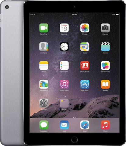 Apple iPad Air 2, 64GB, Wi-Fi, A1566 MGKL2LL/A Space Gray