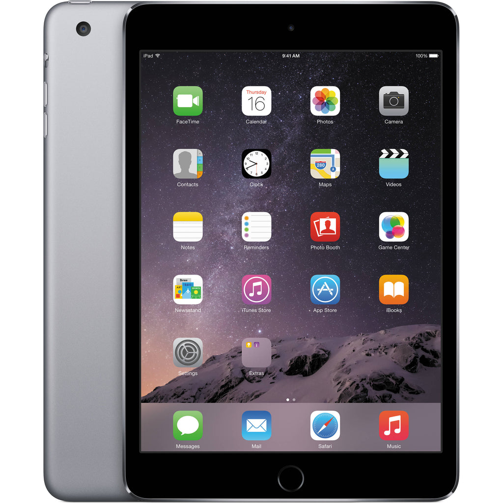 Apple iPad mini 3 Wi-Fi 16GB - Space Gray MGNR2LL/A A1599