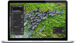 "Apple MacBook Pro Retina 15-Inch ""Core i7"" 2.4GHz A1398 ME664LL/A 2013 8GB RAM 256GB SSD MacOS Mojave v10.14 - Coretek Computers"