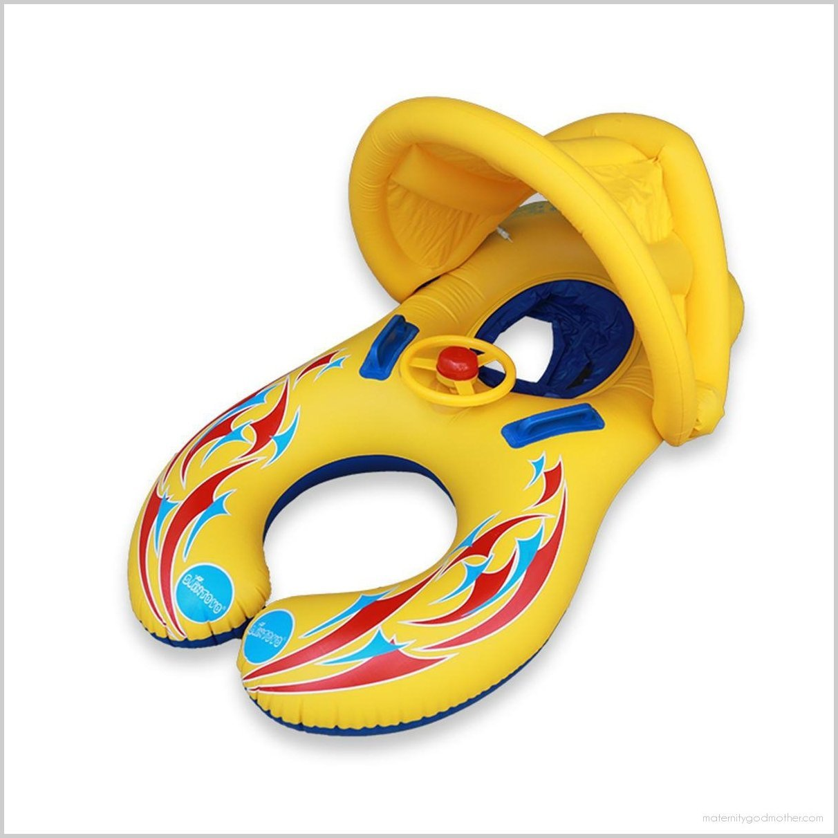 IPRee™ Baby Swimming Pool Water Float Inflatable Children Safety Ring