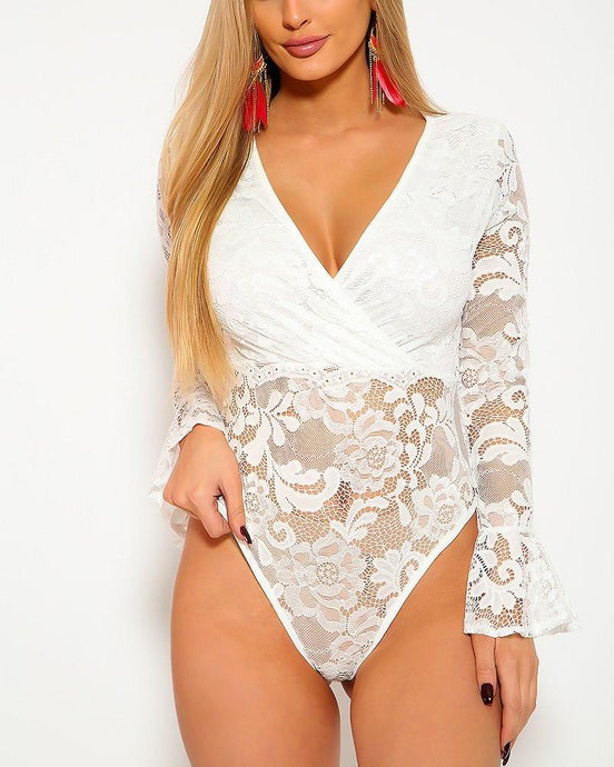 Candice Lace Bodysuit