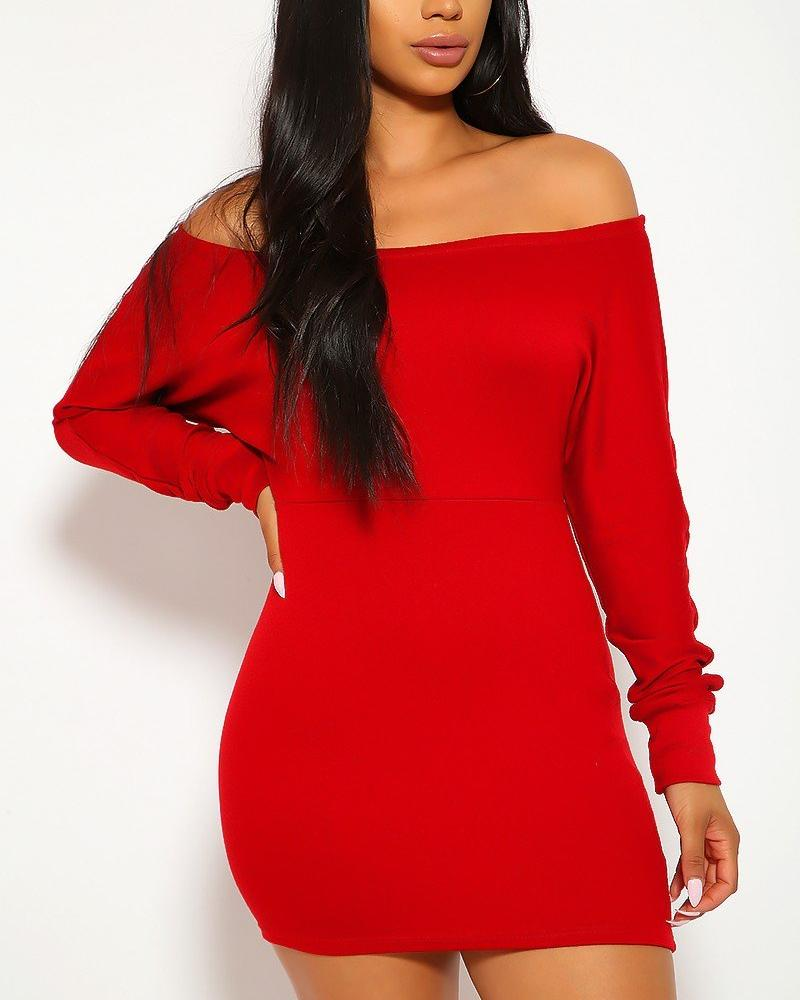 Denice Mini Dress - Red