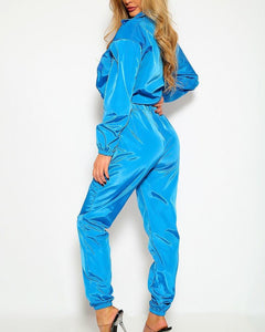 Wendy Windbreaker Set - Blue | BlissBabe