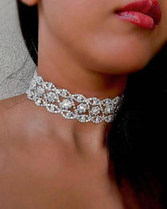 Forever Diamonds Choker Necklace | BlissBabe