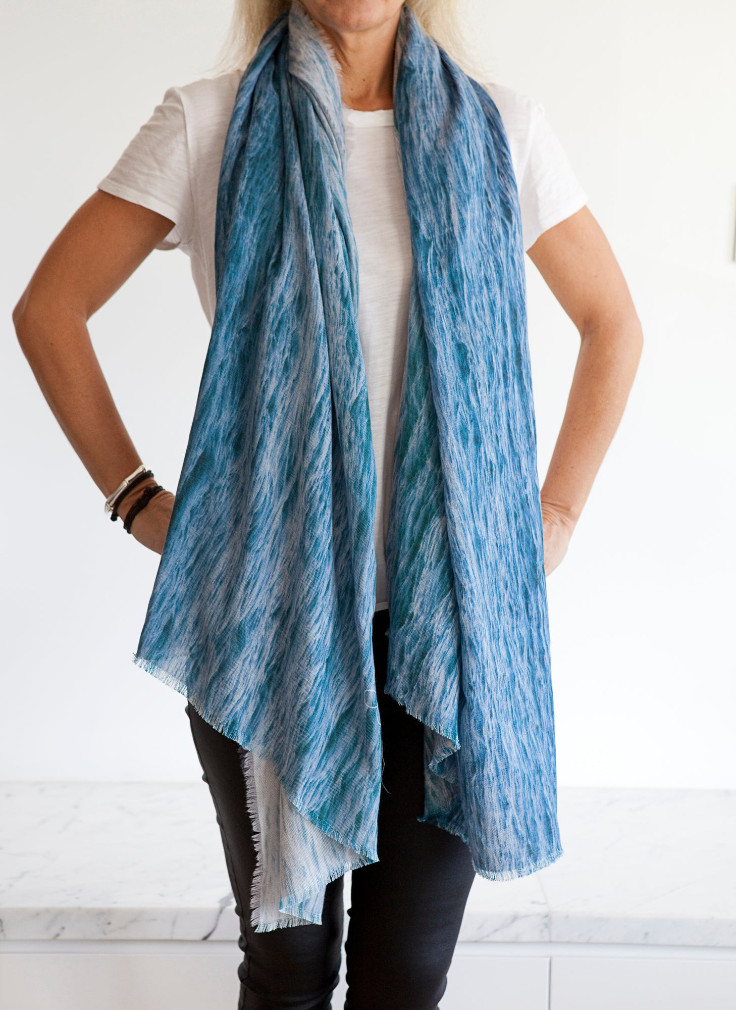 Wool Scarf Ripples