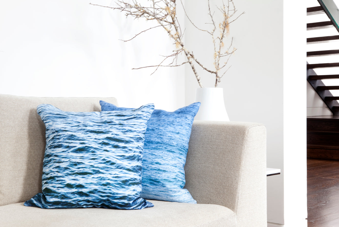 Cushion Linen Ripples