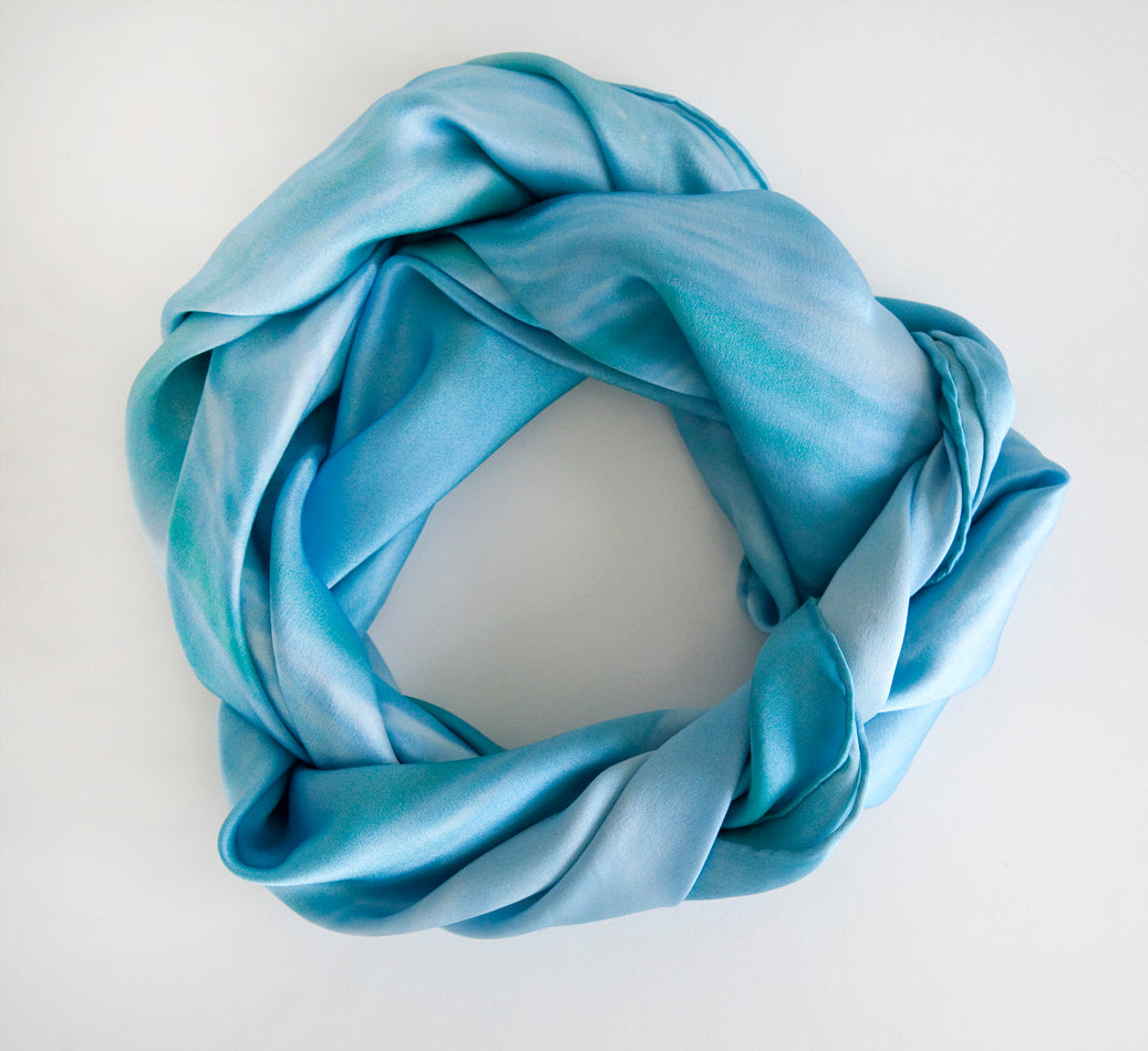 Large Square Silk Scarf Tamarama Summer
