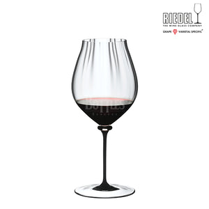 RIEDEL FATTO A MANO PERFORMANCE PINOT NOIR BLACK STEM