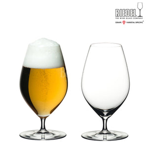 RIEDEL VERITAS BEER 2 GLASSES