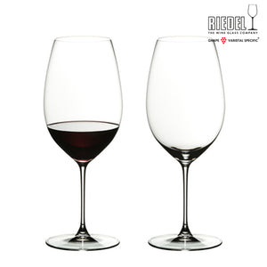 RIEDEL VERITAS NEW WORLD SHIRAZ 2 GLASSES