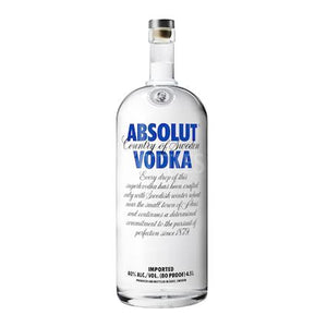 Absolut Vodka 4.5 L