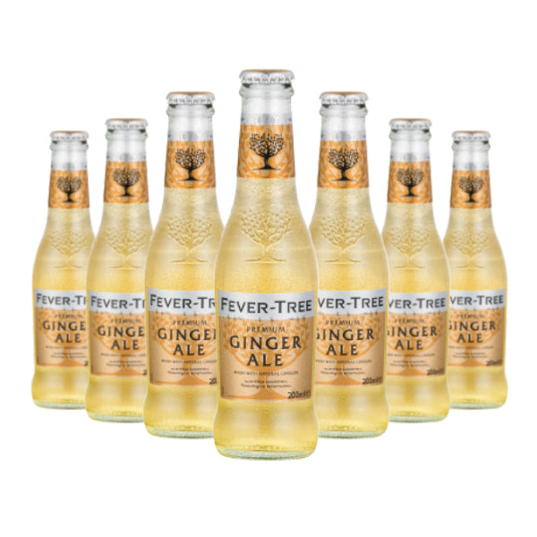 (24 Bottles) Fever Tree Ginger Ale