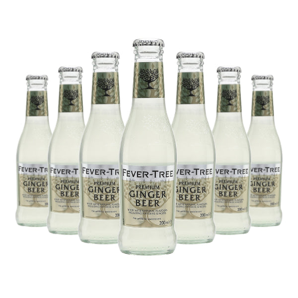 (24 Bottles) Fever Tree Ginger Beer