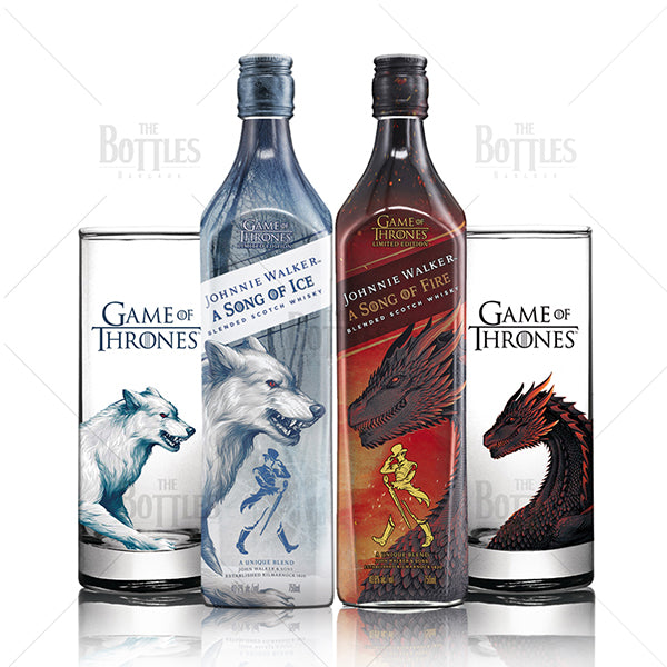 (Set) Johnnie Walker A Song of Fire & A Song of Ice