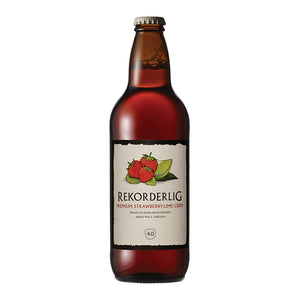 (24 Bottles) Rekorderlig Strawberry & Lime Cider