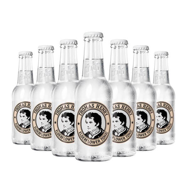 (24 Bottles) Thomas Henry Elderflower Water