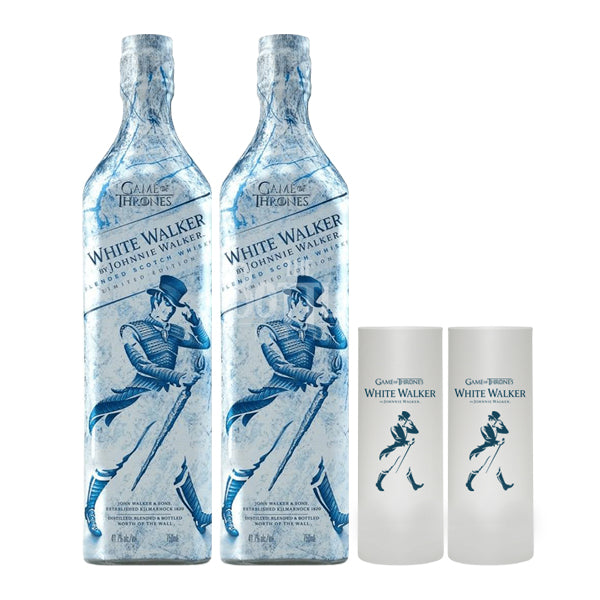(Set) Johnnie Walker White Walker