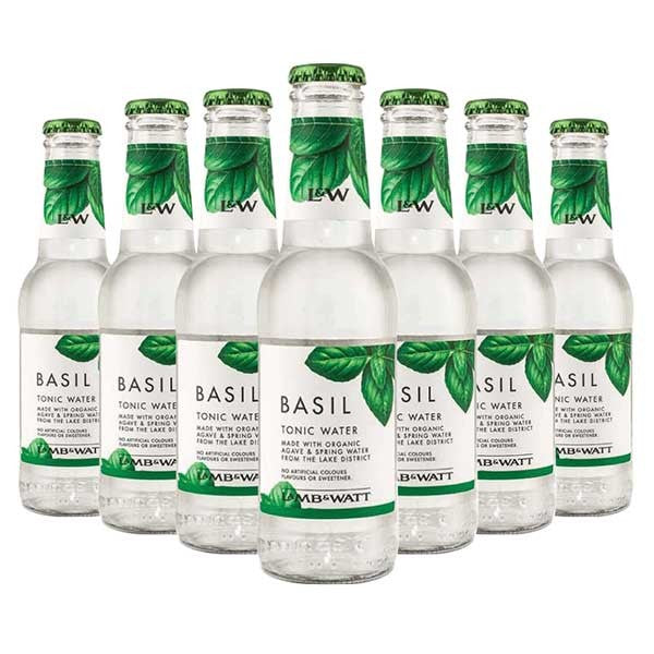 (12 Bottles) LAMB & WATT Basil