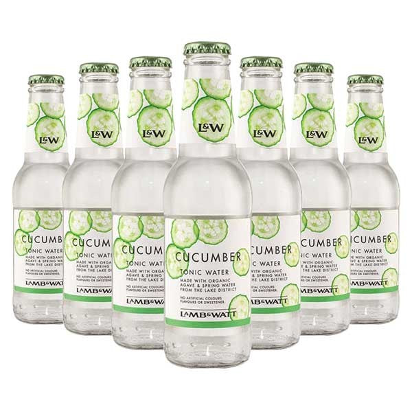 (12 Bottles) LAMB & WATT Cucumber