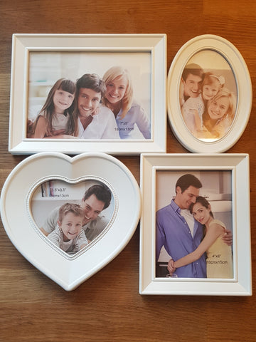 Four Photo Collage Frame