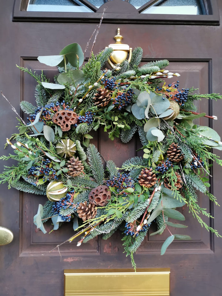 Eucalyptus & Pine Christmas Wreath