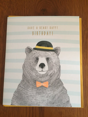 Beary Birthday Card