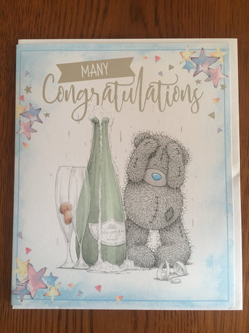 Congratulations Me to You Card