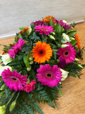 Gerbera and Eustoma Spray