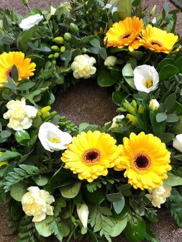 Forever Sunshine Wreath