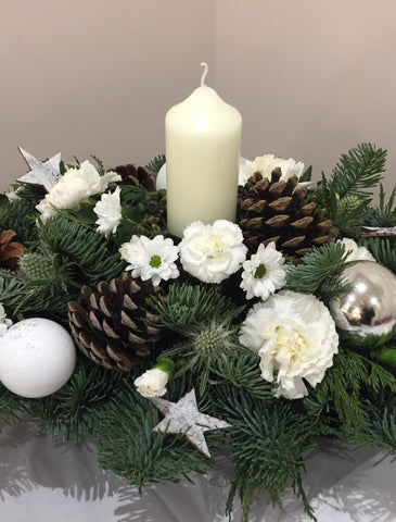 Christmas Spray Centrepiece