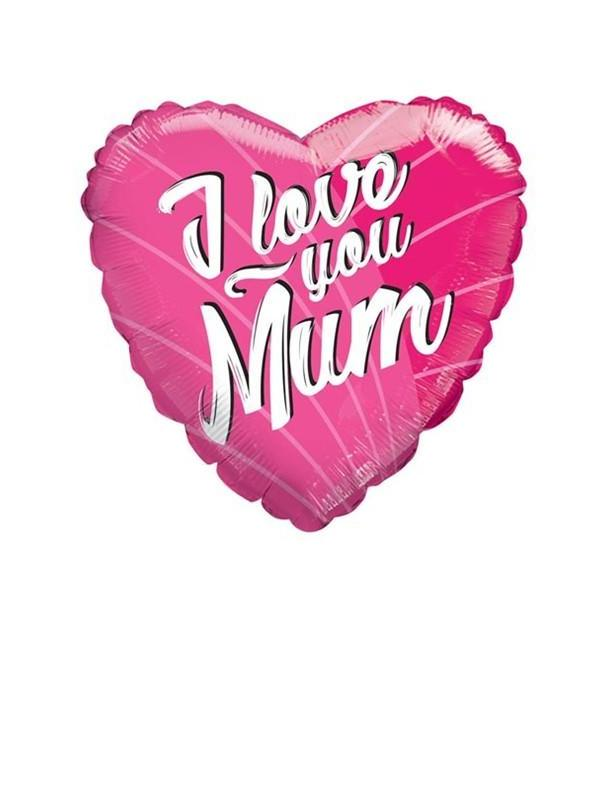 I Love You Mum Balloon