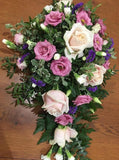 Rose & Eustoma Single Ended Spray