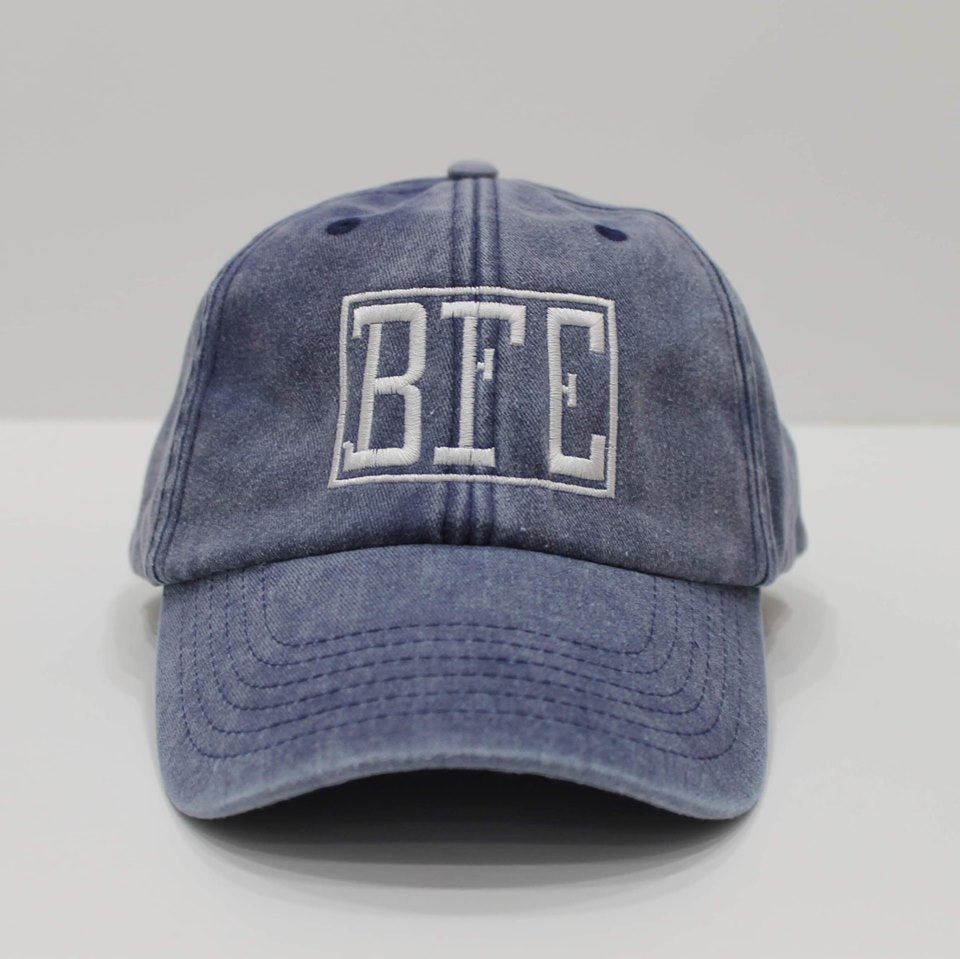 BFE Blue-Denim Dad Hat