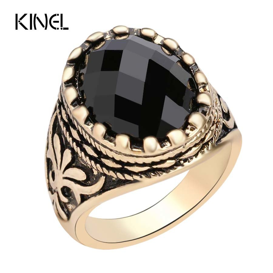 Superhero Ring Tibet Alloy Gold For Men And Women