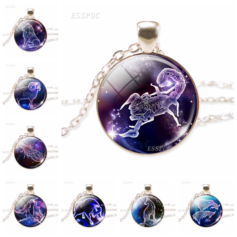 Not Your Ordinary Zodiac Galaxy Necklace