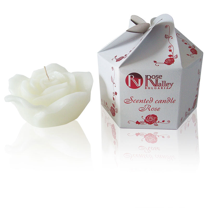 Scented Floating Candle - White Rose 310g