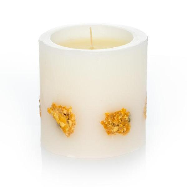 Scented Candle - White Rose and Vanilla 500g