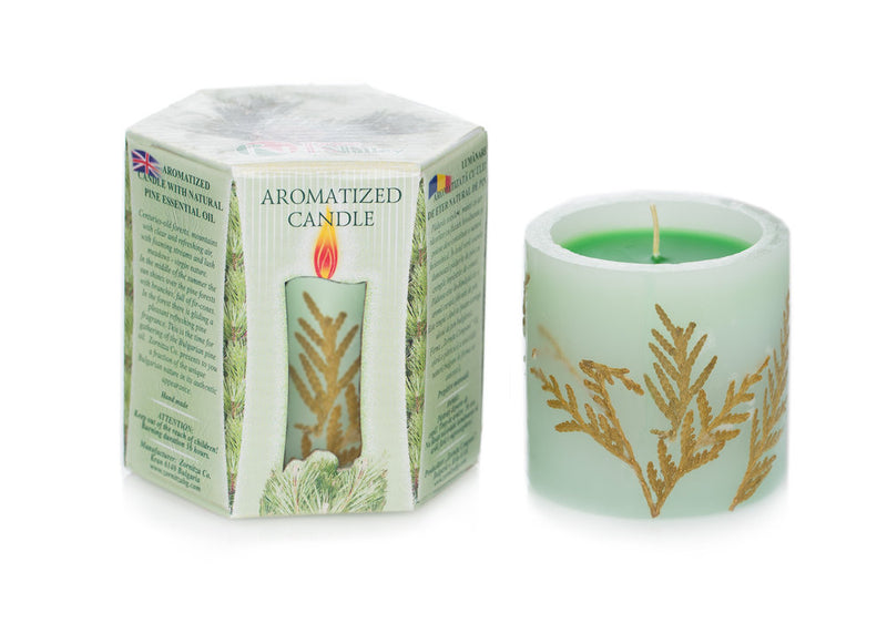 NEW - Scented Candle - Pine 220g