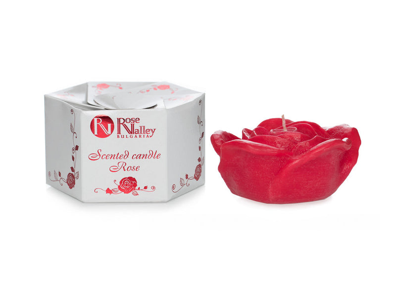 Scented Candle Large Rose 320g